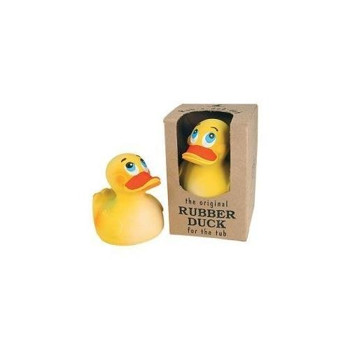 Sitting Duck Bath Toy - Natural Latex Rubber - No Phthalates or BPA