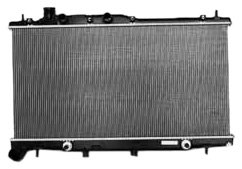 (TYC 2779 Subaru 1-Row Plastic Aluminum Replacement Radiator )