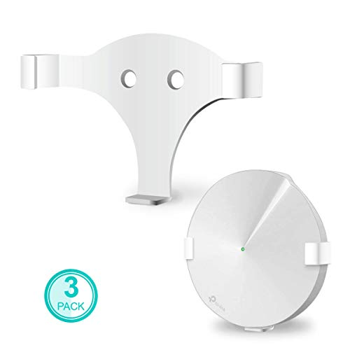ALLICAVER Compatible Wall Mount Tp-Link Deco M5, Sturdy Metal Made Mount Stand Holder Compatible Tp-Link Deco M5 Mesh WiFi (m5-3pack)
