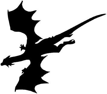 """Dragon Fantasy Creature Myth Art Car Wall Truck Window Vinyl Sticker Decal 6/"""""""