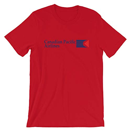 Canadian Pacific Airlines Unisex T-Shirt Red