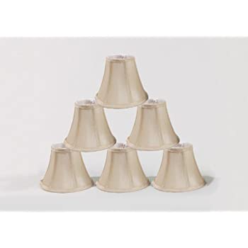 chandelier shades clip on. Urbanest Chandelier Lamp Shades, Set Of 6, Soft Bell 3\ Shades Clip On D