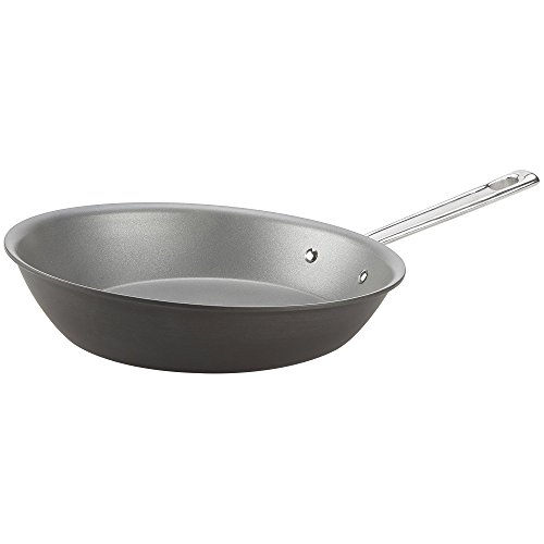 "(Emeril Lagasse Nonstick Perfect Sauté Pan, 11.5"", Dishwasher Safe, Hard Anodized, Gray)"