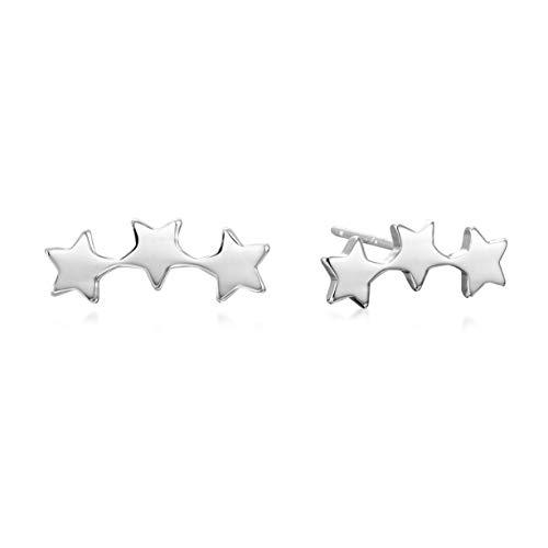 - Star Climber Stud Earrings | 925 Sterling Silver
