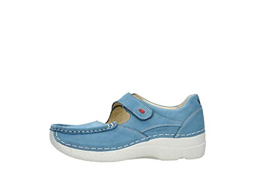 Baltic 06247 Wolky Bride Chaussures Nubuck Comfort À Fever Roll Bleu 1YTY8q