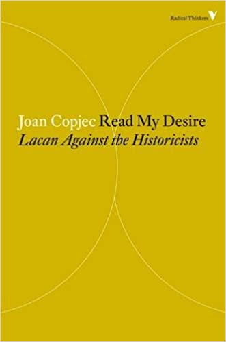 Amazon read my desire lacan against the historicists radical amazon read my desire lacan against the historicists radical thinkers 9781781688885 joan copjec books fandeluxe Gallery