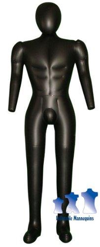 Amazon.com: Hinchable Male maniquí, de tamaño completo con ...
