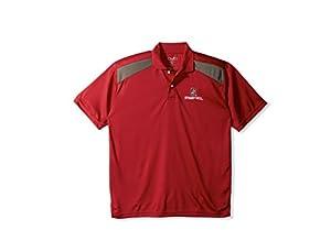 Ncaa stanford cardinal men 39 s ctr logo polo for Amazon logo polo shirts
