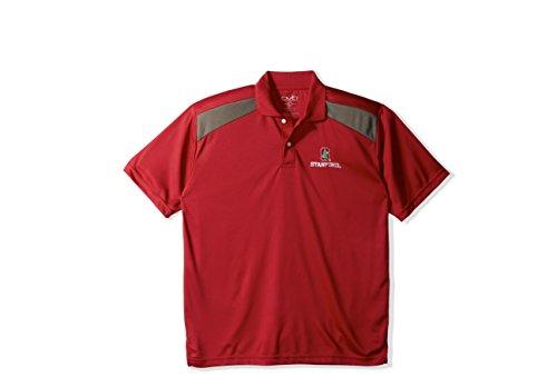 NCAA Stanford Cardinal Men's CTR Logo Polo Shirt, X-Large, - Ctr Stanford