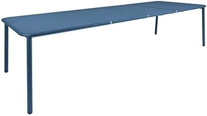 Yard - Mesa rectangular extensible color azul: Amazon.es: Jardín