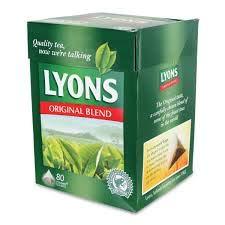Ireland's Favourite Lyons Original Tea 80 count x 2 (160 count) Imported Irish Tea