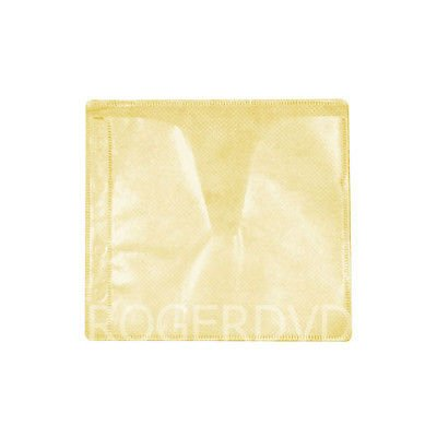 100 CD DVD Double-sided Refill Plastic Sleeve Yellow