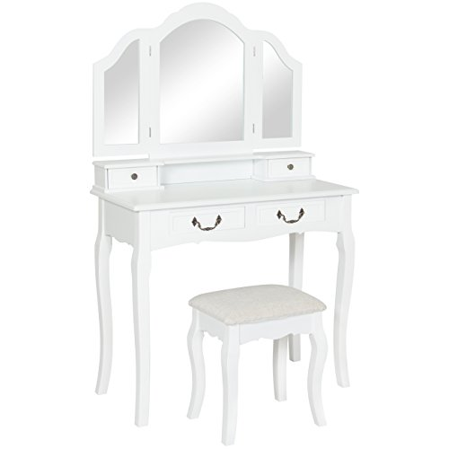 Best Choice Products Tri Mirror Furniture