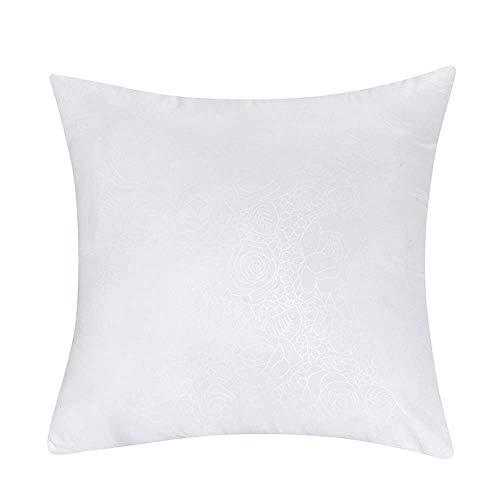 AMY Sofa Pillow, Square Cotton Pillow Reading Lumbar Cushion Sofa Cushion Fit Waist Curve, Body Pillow Home Decoration Pillow (Color : 4040cm) ()