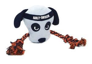 Harley Davidson Plush Rope Dog Tug Toy