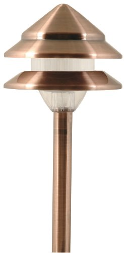 Copper Low Voltage Landscape Lighting - 6