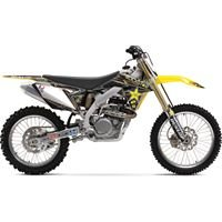 2012 ONE INDUSTRIES ROCKSTAR ENERGY SUZUKI GRAPHICS KIT - SUZUKI RMZ250 - 2007-2009 _64059-010-541 ()