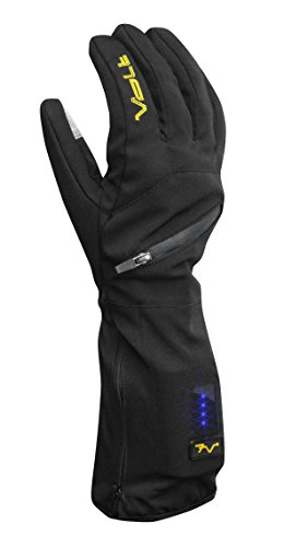 Volt Heated Glove Liner 7 Volt Rechargeable (Medium) (Heated Glove Liners Battery)