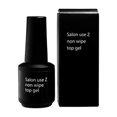 持ってるスクリーチ警告Salon use Z ノンワイプ トップジェル 15ml
