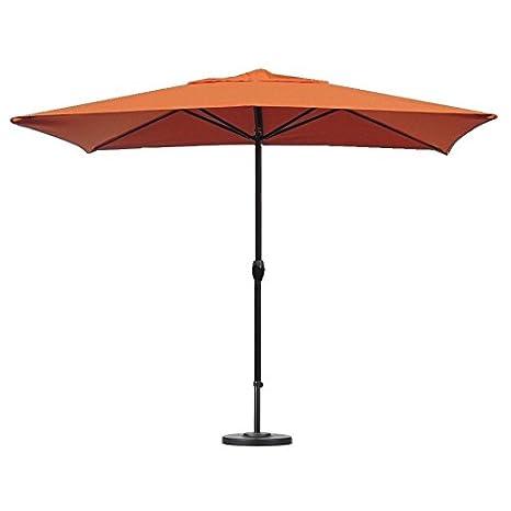 Ombrello ombrello ombrellone da terrazzo, outdoor, Sunset Orange 3 m ...