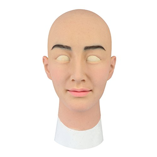 Roanyer Ria Mask-Female Silicone Realistic Mask CD, TG,Drag Queen (Normal Version) -