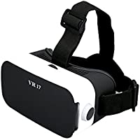 3D VR Headsets, Cocopa Lightweight Virtual Reality Glasses for VR Games and 3D, Comfortable Design 3D VR for iPhone 7/7 Plus/6/6S Plus and Android Smartphones (4.0-6.0)