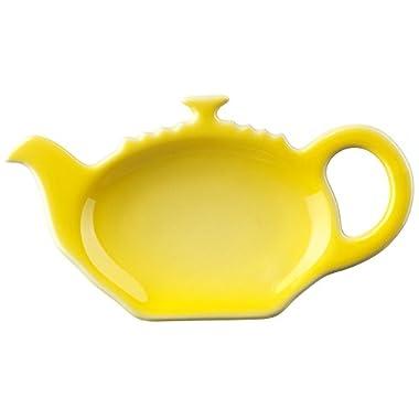 Le Creuset Stoneware Tea Bag Holder, Soleil