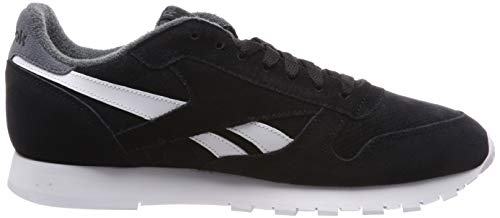 Reebok estl 0 Hombre Para true Mu black Schwarz Zapatillas Eu Grey Leather Classic x0qPXIwr0