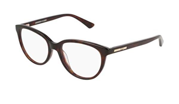 Eyeglasses Alexander McQueen MQ 0115 OP 003 HAVANA //