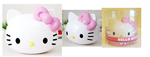 Hello Kitty Face 3D Coin Bank in Acetate Package