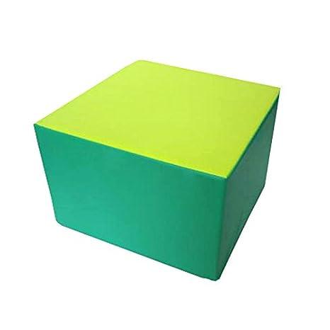 kidunivers - Puf cuadrado 60 x 60 cm de espuma para adultos y niños edad 8 años bisoo: Amazon.es: Bebé