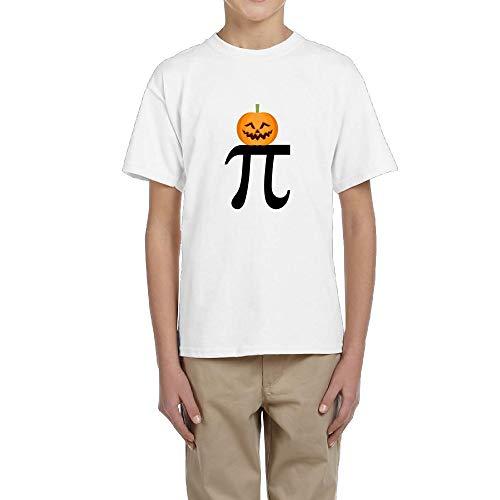TangChuan Youth Boys Girls Pumkin PI - Funny Halloween Funny T-Shirt