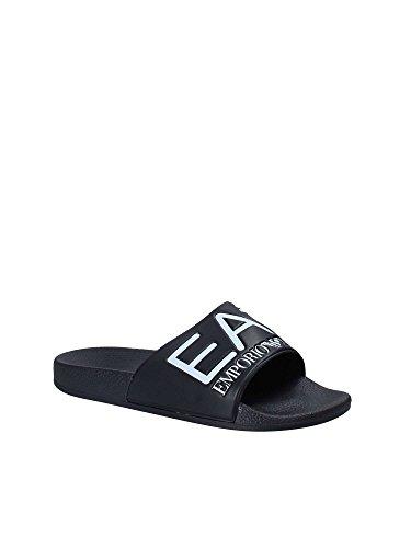 b136dd37c8b744 EA7 Sea World Sandals Black 9.5 UK   EUR 44  Amazon.co.uk  Sports   Outdoors