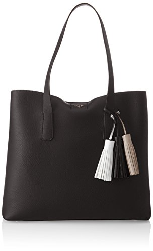 Black y Shoppers de Negro bolsos Hwvg6954230 GUESS Mujer hombro qwERv8RxB