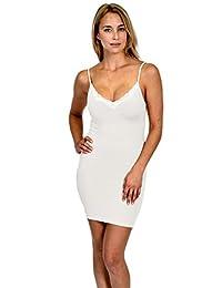 Patricia Lingerie Women's Soft Full Body Shapewear Stretch Control Slip Dress