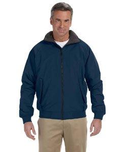 Complete Jacket Nylon - Devon & Jones Men's Three-Season taslon nylon shell Classic Jacket - Large - NAVY