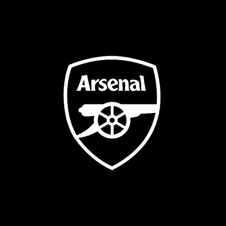 Size : Black Personalized car stickers Hot reflective cartoon arsenal block scratches stickers side door stickers car stickers csfssd
