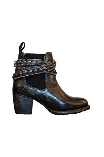 - Bed|Stu Women's Lorn Boot, Black Handwash, 6.5 M US