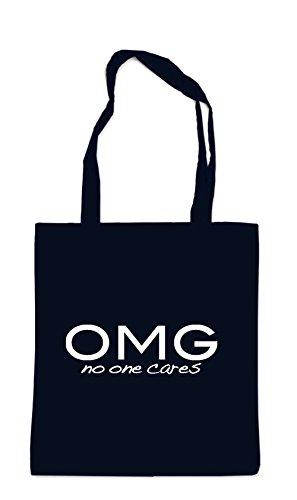 OMG - No One Cares Bag Black
