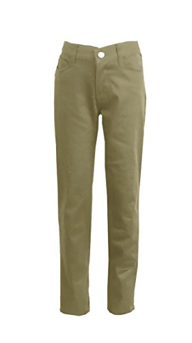 Authentic Galaxy School Uniform Galaxy Big Girls' School Uniform Pencil Pants - Khaki, 8 by Authentic Galaxy School Uniform