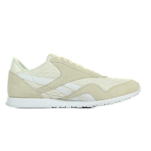 Slim Architect Sneaker Cl Donna Reebok Scarpe Nylon Bianco 4nXTWBH