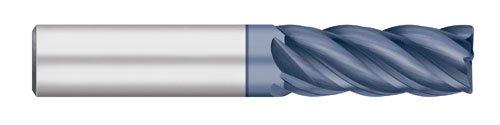 Corner Radius ALCRO-Max Coated 1//4 Shank Diameter 2-1//2 Overall Length 5 Flute 3//4 Length of Cut 0.015 Corner Radius 1//4 Shank Diameter 2-1//2 Overall Length Titan USA Titan TC26416 Solid Carbide VI-Pro Variable Index End Mill Regular Length
