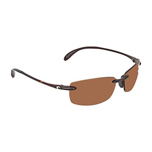 Costa Del Mar Brine C-Mate 1.50 Sunglasses, Tortoise, Copper 580P Lens