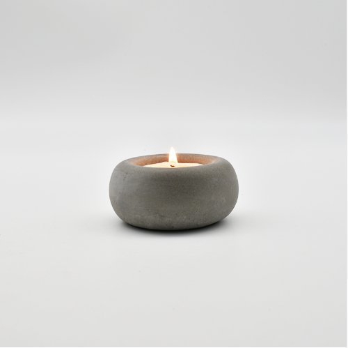 Pinkie Tm Oval concrete candle holder molds wedding decoration crafts concrete planter candlestick molds