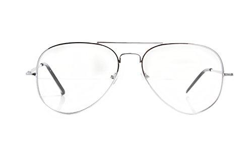 adulto sol Básico Gafas Accessoryo de hombre para plata Plateado UxwRE8ptqE
