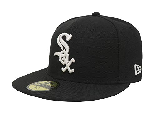 New Era Fitted 5950 Cap - New Era 59FIFTY Chicago White Sox MLB 2017 Authentic Collection On Field Game Cap Size 7 1/8