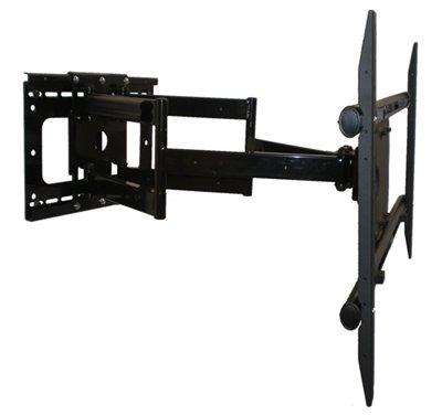 "New Deluxe Articulating Wall Mount TV Bracket for 60"" LG 60LB7100 LED Smart 3D TV **Extends 37 Inches**"