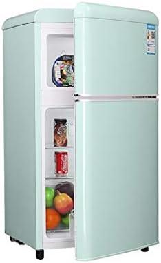 冷蔵+冷凍冷蔵庫の総容量(L):82   2層強化ガラス棚一体型 ミュート 二重温度制御、家庭用、オフィス用、キッチン冷凍庫用