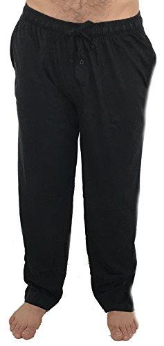 At The Buzzer 14500-Black-L Men's Pajama Pants/Sleepwear/PJS - Mens Sleepwear Pants
