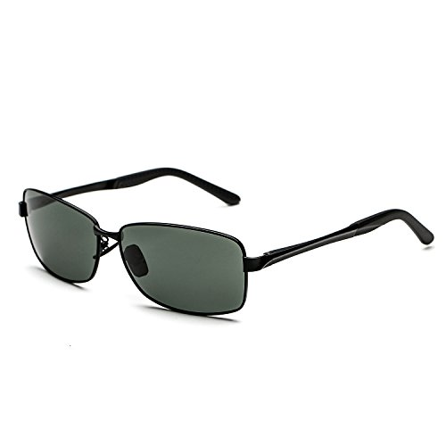CHB Men's Aviator Polarized Anti-UV HD Designer Sunglasses for - Bvl Sunglasses